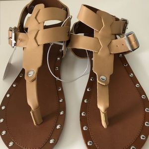 "Mossimo ""Kira"" tan sandals"